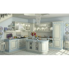 "Кухня ""MakBerry"" Искья синяя"